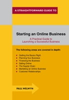 Starting An Online Business: A Straightforward Guide by Paul Welwyn