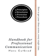 Handbook for Professional Communication by Hans Gutbrod