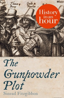 Book The Gunpowder Plot: History in an Hour by Sinead Fitzgibbon