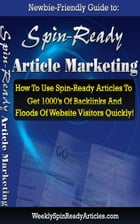How TO Spin Ready Article Marketing by Jimmy Cai
