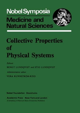 Book Collective properties of physical systems: Medicine and Natural Sciences by Lundqvist, Bengt