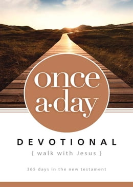 Book NIV, Once-A-Day: Walk with Jesus, eBook: 365 Days in the New Testament by Walk Thru the Bible