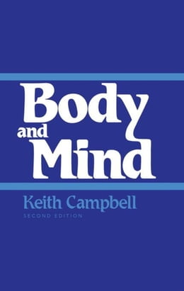 Book Body and Mind: Second Edition by Campbell, Keith