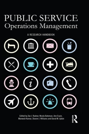 Public Service Operations Management A research handbook