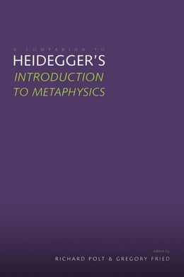 Book Introduction to Metaphysics by Heidegger, Martin