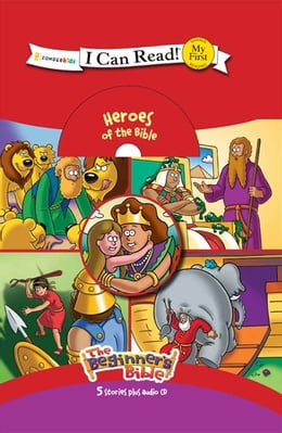 Book The Beginner's Bible Heroes of the Bible Collection by ZonderKidz