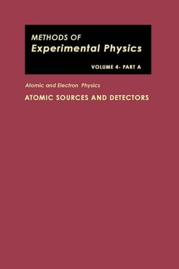 Book Atomic and Electron Physics: ATOMIC SOURCES AND DETECTORS by Hughes, Vernon W.