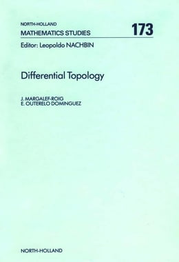 Book Differential Topology by Margalef-Roig, J.