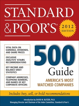 Book Standard and Poor's 500 Guide, 2012 Edition by Standard & Poor's