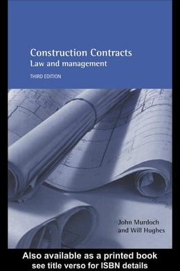 Book Construction Contracts by Murdoch, John