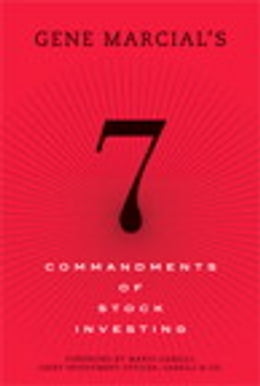 Book Gene Marcial's 7 Commandments of Stock Investing by Gene G. Marcial
