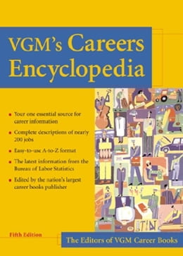 Book VGM's Careers Encyclopedia by VGM, Editors of
