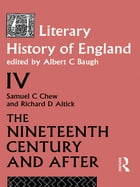 A Literary History of England Vol. 4