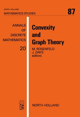 Book Convexity and Graph Theory by Rosenfeld, M.