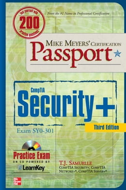 Book Mike Meyers' CompTIA Security+ Certification Passport 3rd Edition (Exam SY0-301) by T. J. Samuelle