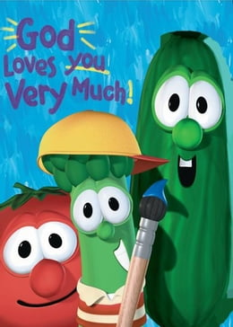 Book God Loves You Very Much / VeggieTales by Cindy Kenney