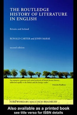 Book The Routledge History of Literature in English by Carter, Ronald
