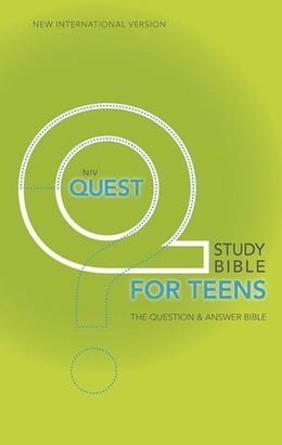 Book NIV, Quest Bible for Teens, eBook: The Question and Answer Bible by Christianity Today Intl.