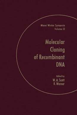Book Molecular of Cloning of Recombinant Dna by Scott, W.A.