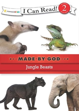 Book Jungle Beasts by Zondervan