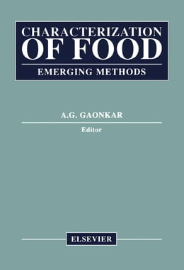 Book Characterization of Food: Emerging Methods by Gaonkar, Anilkumar G.