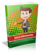 Savvy Salesmanship by Anonymous