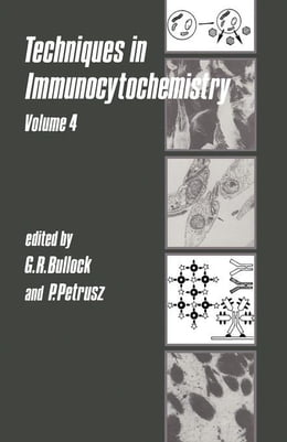 Book Techniques in Immunocytochemistry by Bullock, Gillian R.
