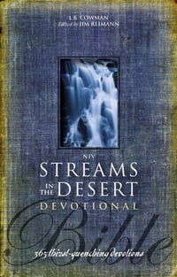 NIV, Streams in the Desert Bible, eBook: 365 Thirst-Quenching Devotions