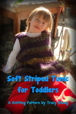Book Soft Striped Tunic for Toddlers by Tracy Zhang