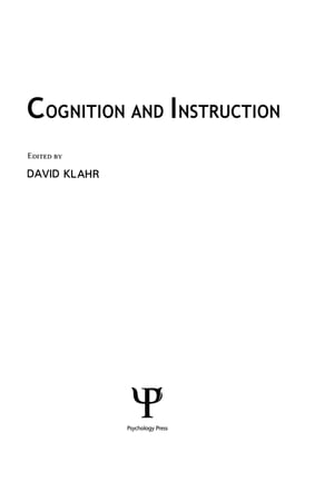 Cognition and Instruction