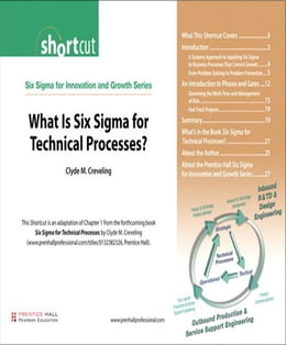 Book What Is Six Sigma for Technical Processes? (Digital Short Cut) by Clyde M. Creveling