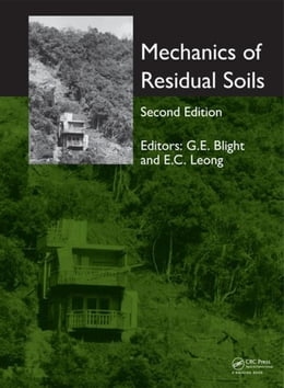Book Mechanics of Residual Soils, Second Edition by Blight, Geoffrey E.