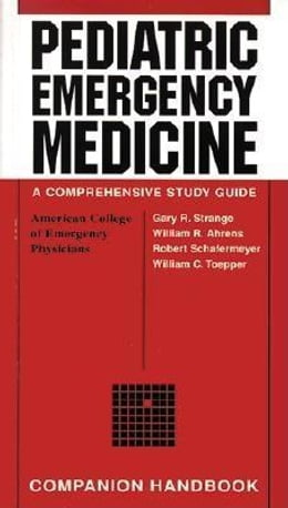 Book Pediatric Emergency Medicine Companion Handbook by Strange, Gary