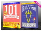 And the Mountains Echoed - 101 Amazing Facts & Trivia King!: Fun Facts and Trivia Tidbits Quiz Game Books by G Whiz
