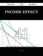 Income Effect 41 Success Secrets - 41 Most Asked Questions On Income Effect - What You Need To Know