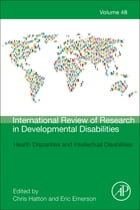 Health Disparities and Intellectual Disabilities by Christopher Hatton