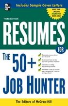 Resumes for 50+ Job Hunters by Editors of VGM Career Books