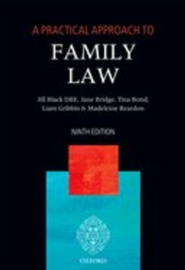 Book A Practical Approach to Family Law by Jane Bridge