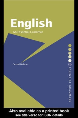 Book English: An Essential Grammar by Nelson, Gerald