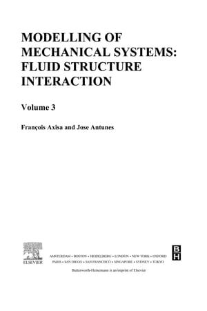 Modelling of Mechanical Systems: Fluid-Structure Interaction