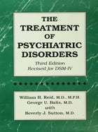 The Treatment Of Psychiatric Disorders