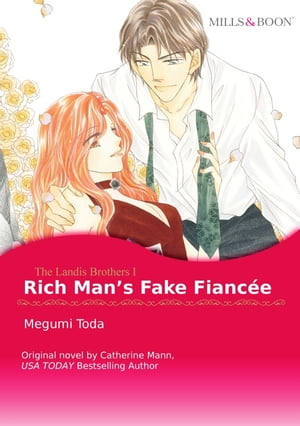 RICH MAN'S FAKE FIANCEE: Harlequin Comics