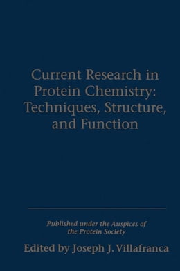 Book Current Research in Protein Chemistry by Villafranc