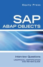SAP ABAP Objects Interview Questions by Equity Press