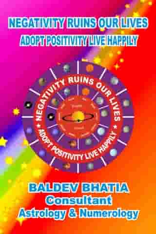 Negativity Ruins Our Lives: Adopt Positivity Live Happily