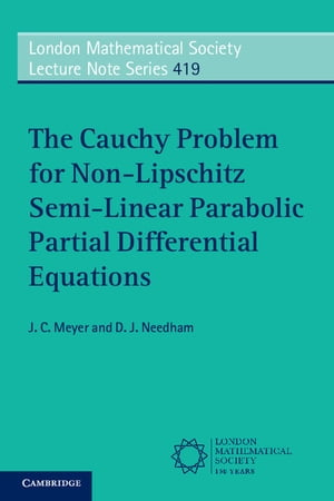 The Cauchy Problem for Non-Lipschitz Semi-Linear Parabolic Partial Differential Equations