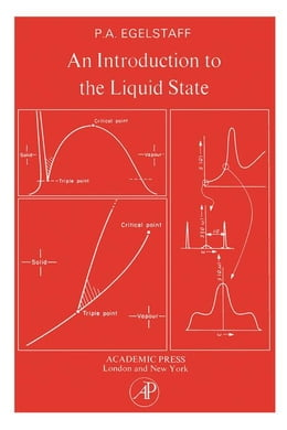 Book An Introduction to the liquid state by Egelstaff, P