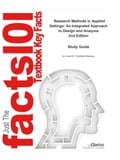 e-Study Guide for: Research Methods in Applied Settings: An Integrated Approach to Design and Analysis by Jeffrey A. Gliner, ISBN 9780805864342