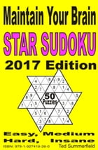 Star Sudoku 2017 Edition by Ted Summerfield
