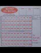 Keno in Reno by Ed SJC Park